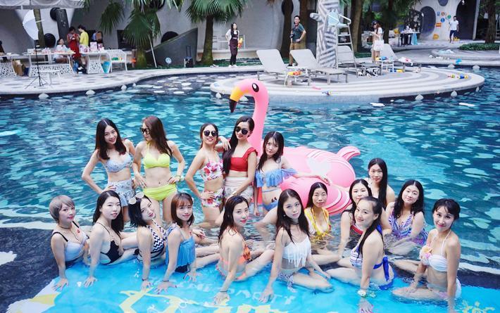 妈妈网女神之夏夏日泳池派对